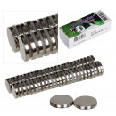 wholesale Magnets: Magnet Deco Tight diameter 13mm, 50 pieces